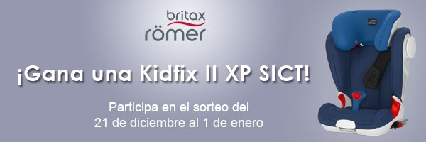 britax r mer sortea una kidfix ii xp sict. Black Bedroom Furniture Sets. Home Design Ideas
