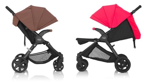 Sillas de paseo Britax B-Agile y B-Motion Plus
