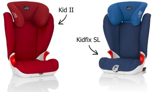 Kidfix SL y Kid II