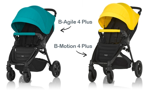 Britax B-Agile y B-Motion Plus