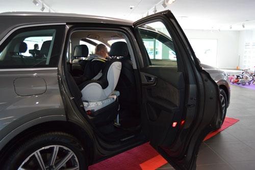 Römer Dual-Fix en la presentación del Audi Q7