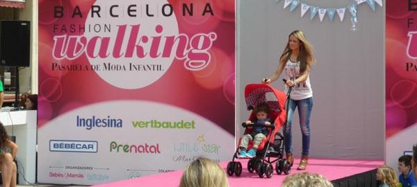 Inglesina Trip en la pasarela Barcelona Fashion Walking