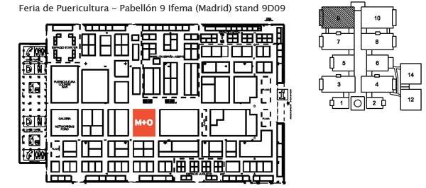 Ifema 2014 plano pabellon 9