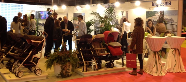 Stand Inglesina en Bebes y Mamas Barcelona 2014