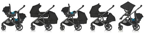 Britax B-Ready travel system