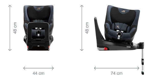 Dualfix i-Size - Dimensiones