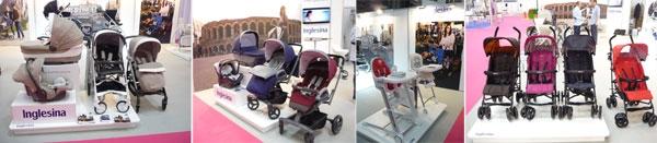 Stand de Inglesina en la Feria Bebes y Mamas de Barcelona 2014