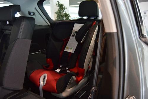 Römer Advansafix en la presentación del Audi Q7