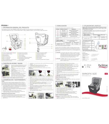 Instrucciones Swingfix M i-size & Dualfix M i-size