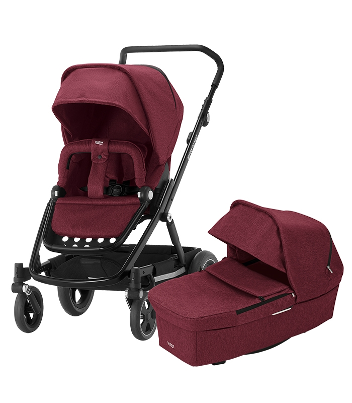Britax GO NEXT Wine Red Melange