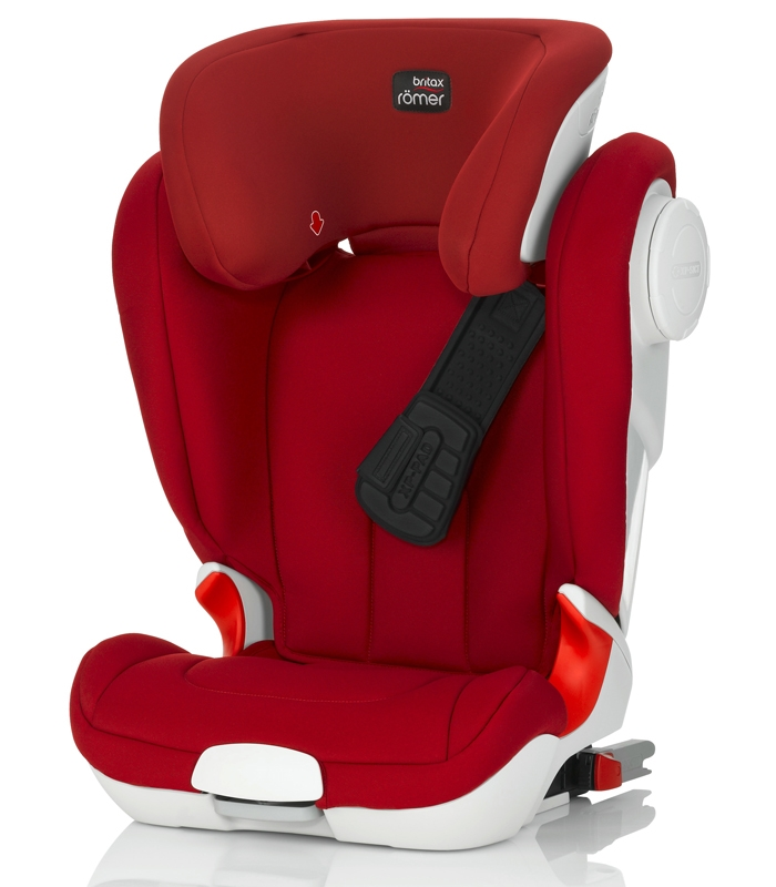 Römer Kidfix XP SICT Flame Red 2016