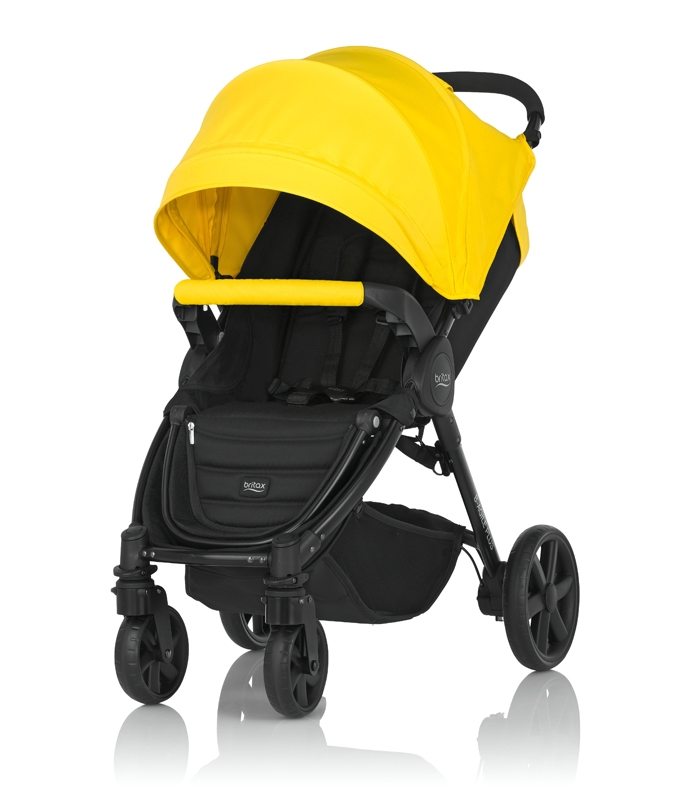 Britax PLUS-BAGILE y BMOTION Pack Sunshine Yellow