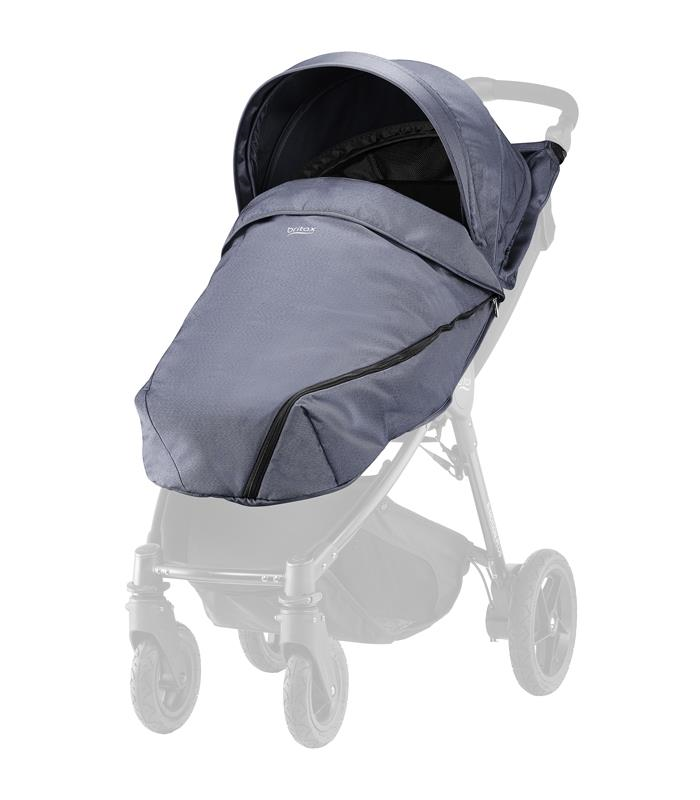 Britax PLUS-BAGILE y BMOTION Pack Blue Denim con saco