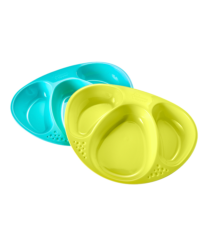 Tommee Tippee Bowls, Plates and Pots Plate Compartiments x2