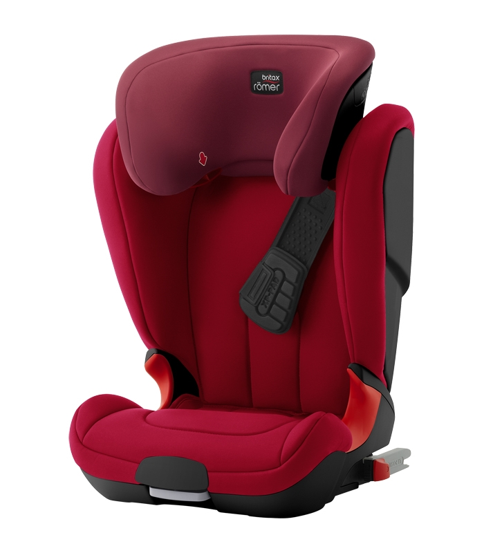 Römer Kidfix XP BLACK SERIES Flame Red