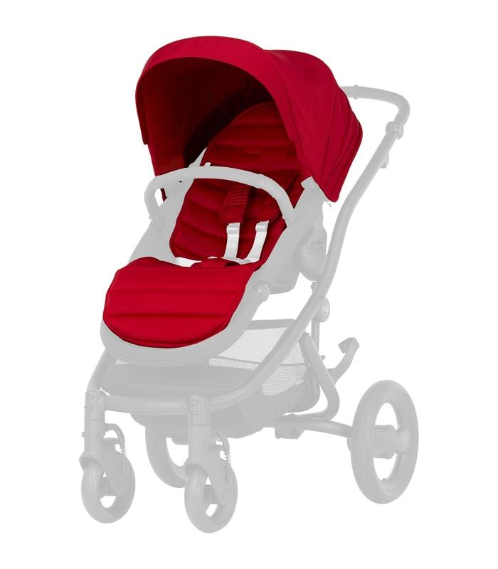 Britax AFFINITY 2 PACK COLOR Flame Red