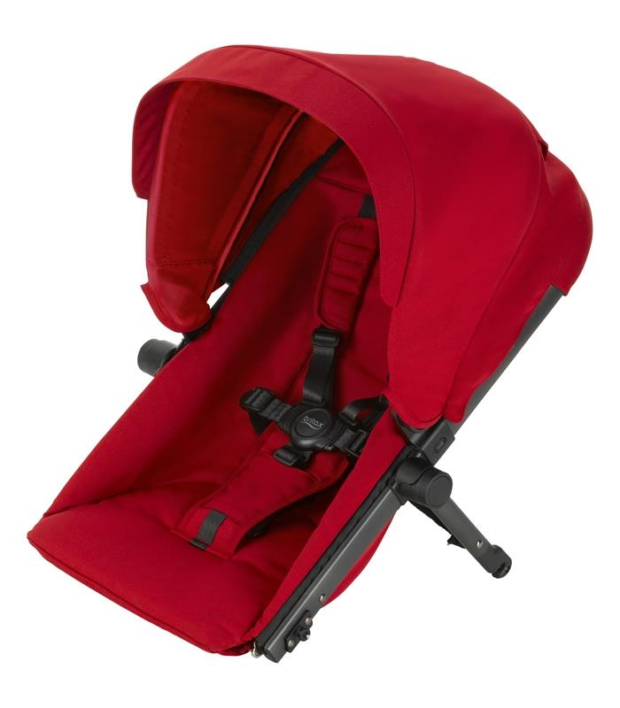 Britax B-READY Asiento Flame Red