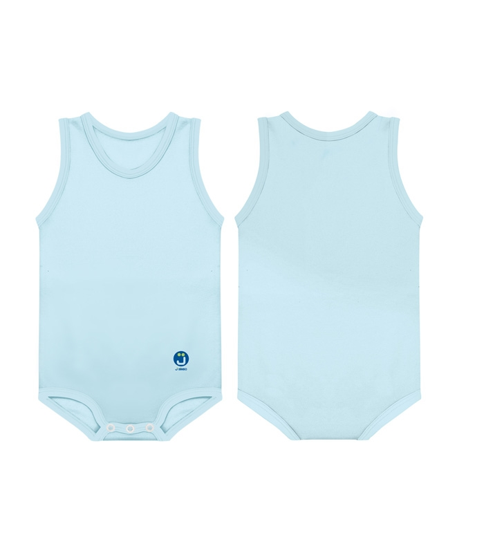 JBimbi COTTON SUMMER LISO - AZUL CLARO