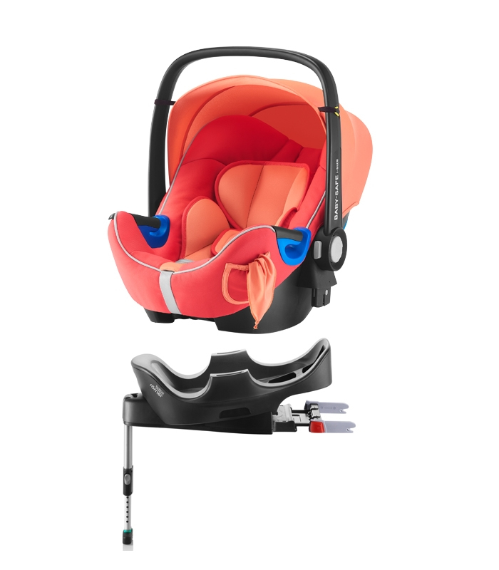 Römer Baby-Safe i-Size Pack Coral Peach