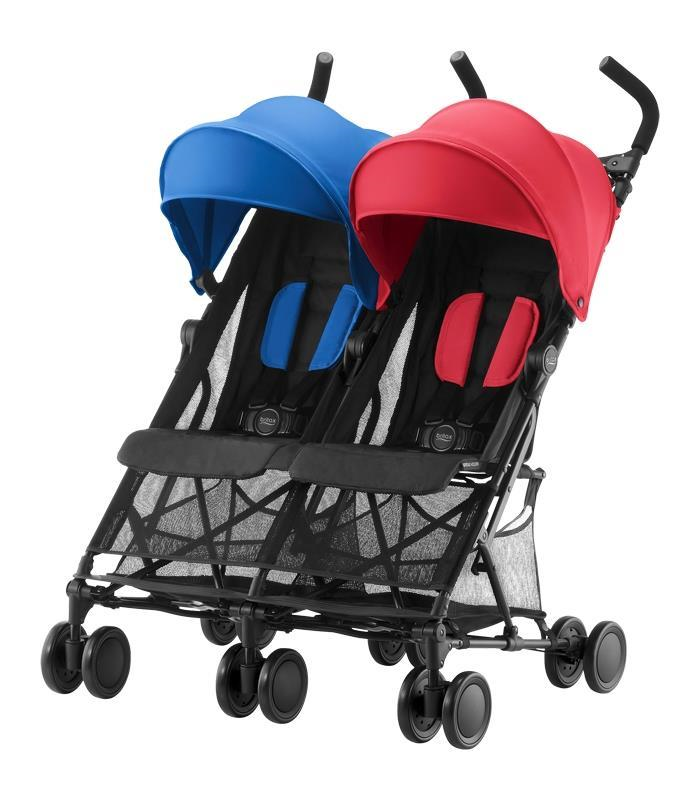 Britax HOLIDAY DOUBLE Red-Blue