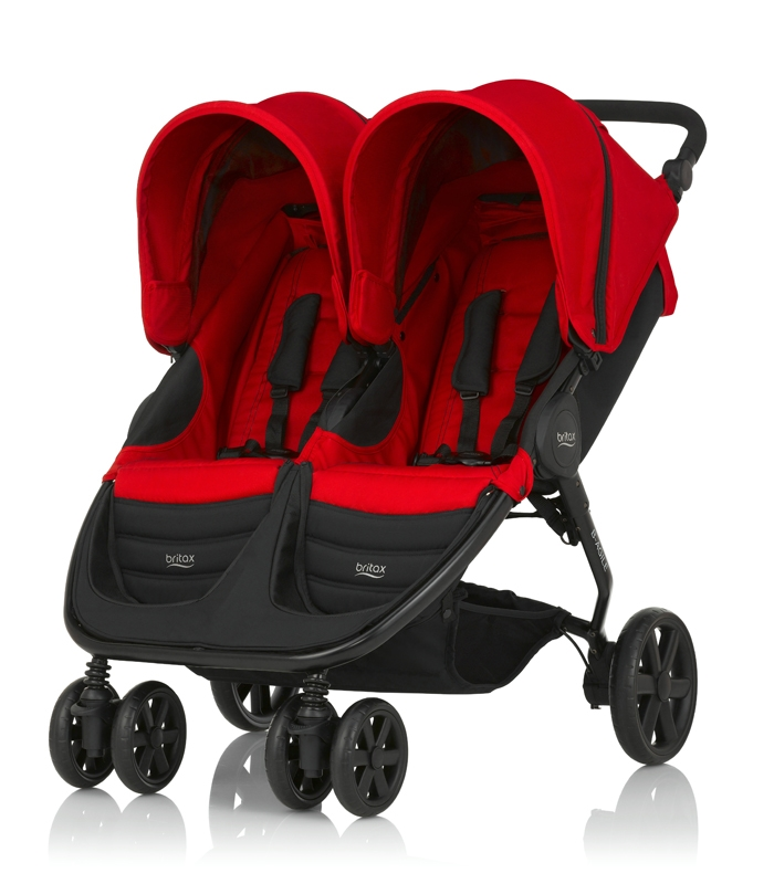 Britax B-AGILE DOBLE Flame Red