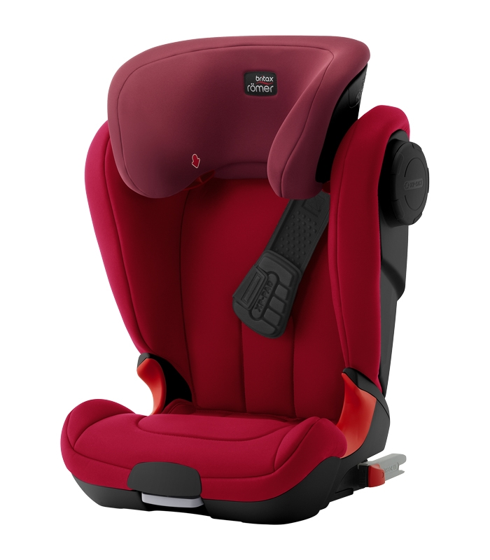 Römer Kidfix XP SICT BLACK SERIES Flame Red