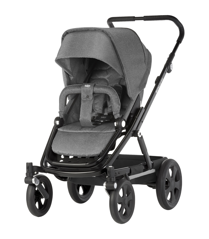 Britax GO BIG BIG BLACK Grey Melange