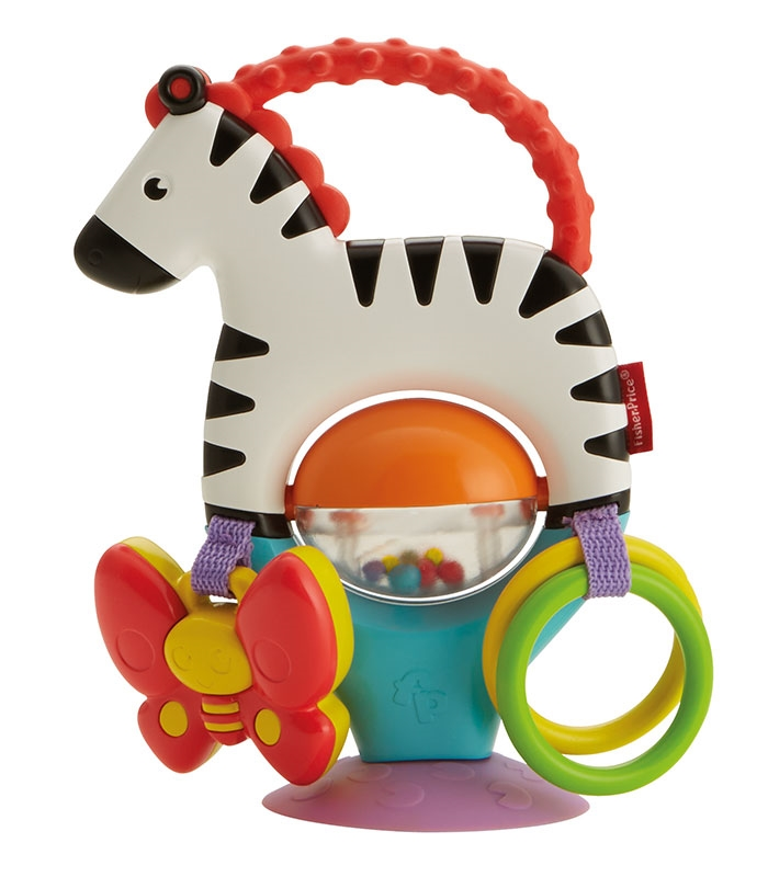 Fisher-Price A PARTIR 3 MESES Activity Zebra