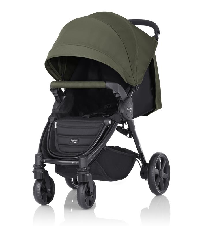 Britax PLUS-BAGILE y BMOTION Pack Olive Green