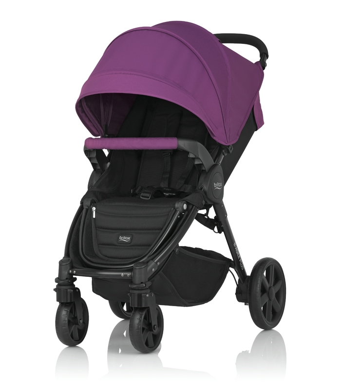 Britax PLUS-BAGILE y BMOTION Pack Mineral Lilac