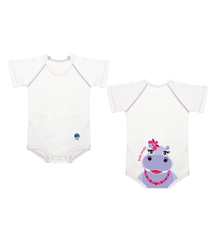 JBimbi COTTON 4 SEASON BABY JUNGLE HIPOPOTAMO