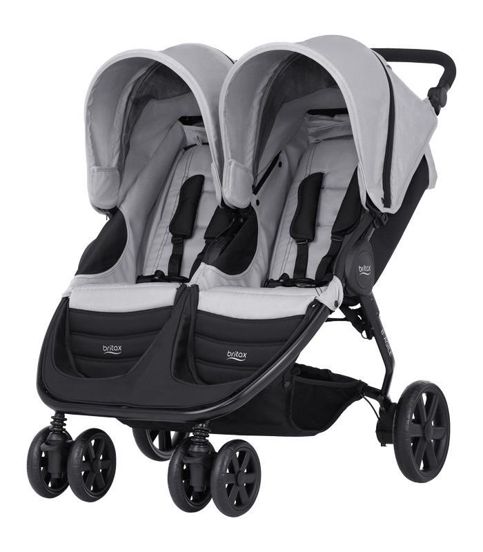 Britax B-AGILE DOBLE Steel Grey