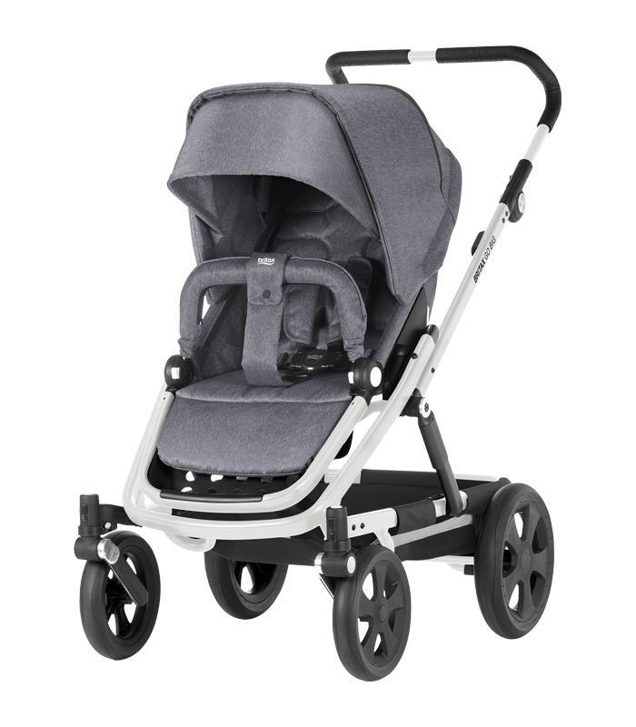 Britax GO BIG BIG WHITE Grey Melange