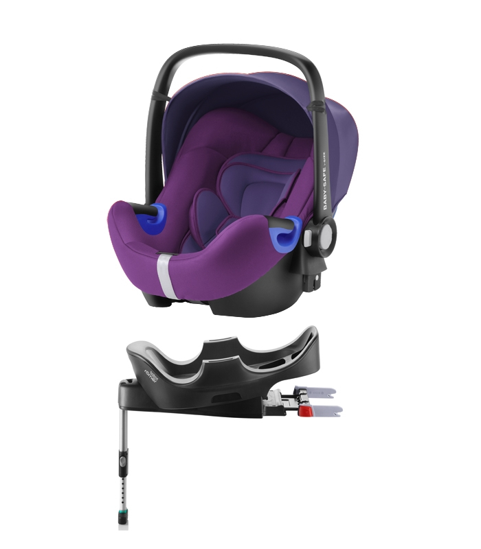 Römer Baby-Safe i-Size Pack Mineral Purple