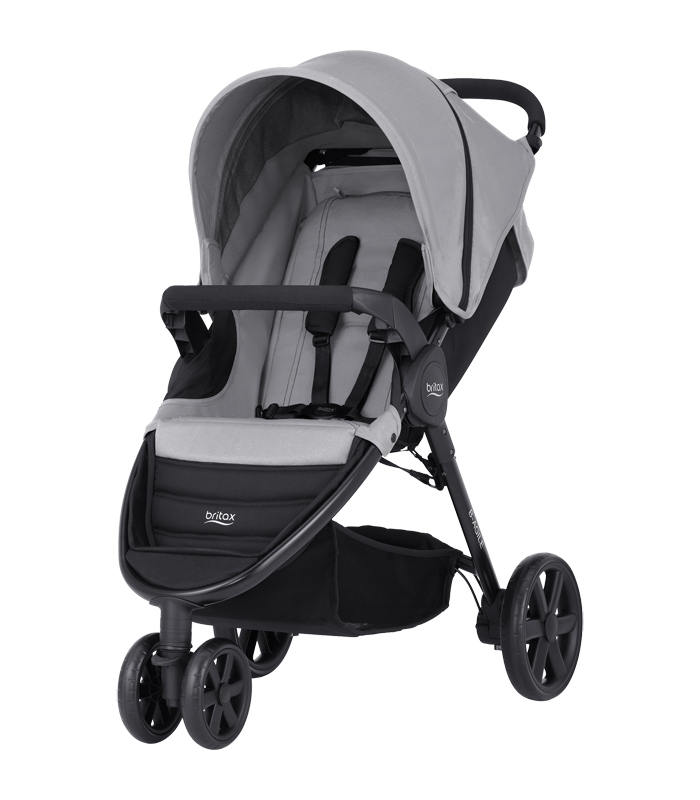 Britax B-AGILE Steel Grey 3